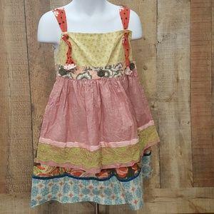 Matilda Jane Serendipity Knot dress w/ apron